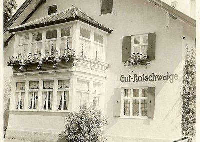Das Gutshaus vor circa 100 Jahren